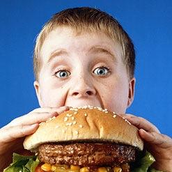 bambino con hamburger - Azienda Agricola La Piemontesina, Torino  Piemonte